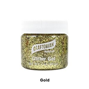 gold glit gel