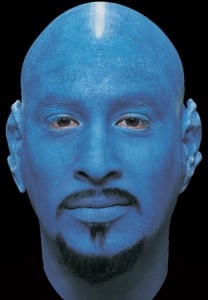 blue bald